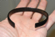 "A large, stunning Early Ancient Celtic ""Halstatt Culture"" bronze decorated bangle , SOLD"